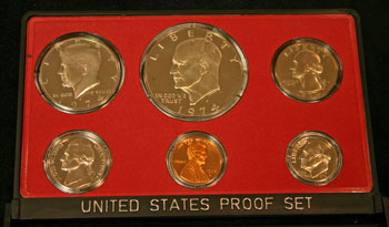 1974 Proof Set obverse