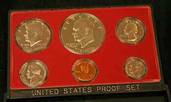 1975 Proof Set obverse