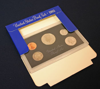 1983 Proof Set contents