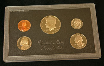 1983 Proof Set obverse