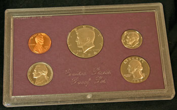 1986 Proof Set obverse