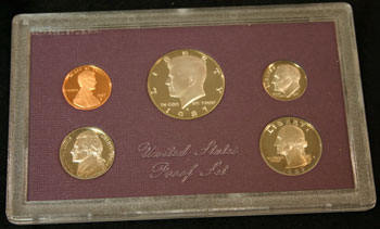 1987 Proof Set obverse