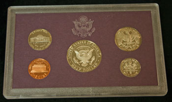 1988 Proof Set reverse