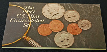 1989 Mint Set front of insert