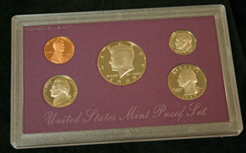 1989 Proof Set obverse