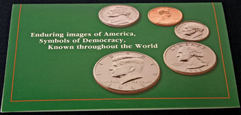1993 Mint Set front of insert