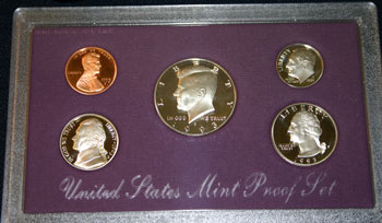 1993 Proof Set obverse