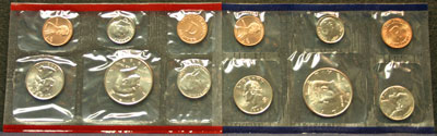 1998 Mint Set obverse images of coins
