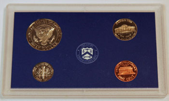 1999 Proof Set reverse of regular proof coins