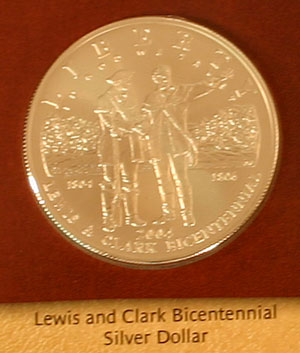 2004 Lewis and Clark Commemorative Silver Dollar obverse