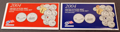 2004 Mint Set package of uncirculated coins