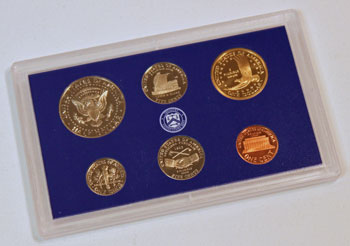 2004 Proof Set reverse images of regular proof coins