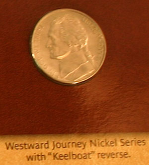 2004 Westward Journey keelboat nickel obverse
