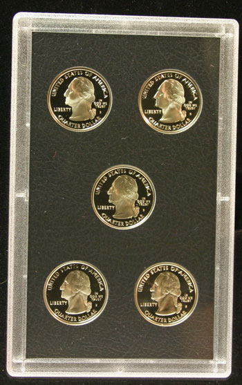 2005 American Legacy Collection Proof Coins Set state quarters obverse