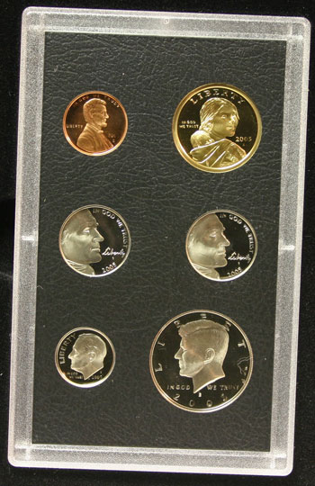 2005 American Legacy Collection Proof Coins Set standard coins obverse
