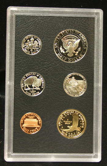 2005 American Legacy Collection Proof Coins Set standard coins reverse
