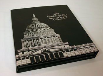 2006 American Legacy Collection Proof Coins Set box