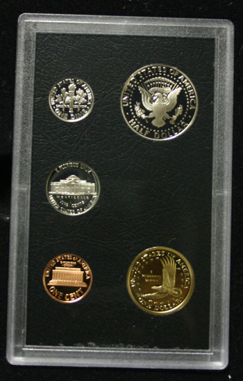 2006 American Legacy Collection Proof Coins Set standard coins reverse