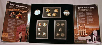2007 American Legacy Collection Proof Coins Set package open