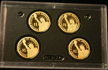 2007 American Legacy Collection Proof Coins Set presidential dollars reverse