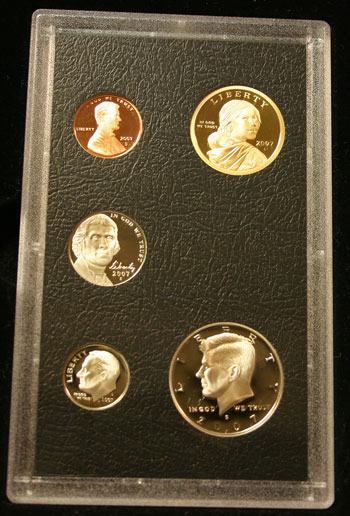 2007 American Legacy Collection Proof Coins Set standard coins obverse