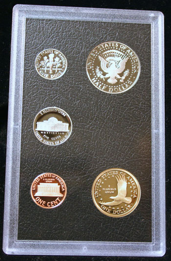 2007 American Legacy Collection Proof Coins Set standard coins reverse