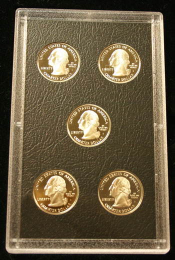 2007 American Legacy Collection Proof Coins Set state quarters obverse