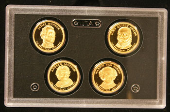 2008 American Legacy Proof Coins Set presidential dollars obverse