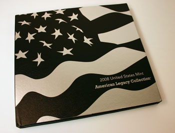 2008 American Legacy Proof Coins Set box