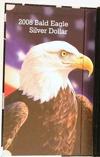 2008 American Legacy Proof Coins Set package left panel