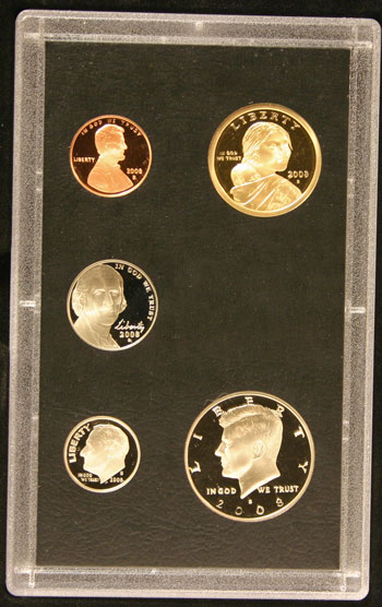 2008 American Legacy Proof Coins Set standard coins obverse