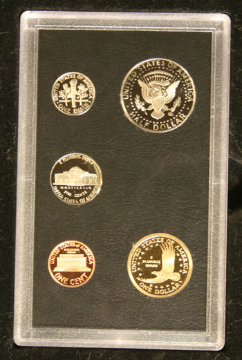 2008 American Legacy Proof Coins Set standard coins reverse