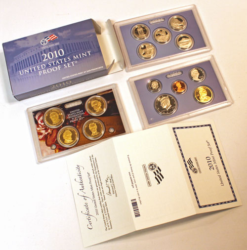 2010 Proof Set - difficult to find