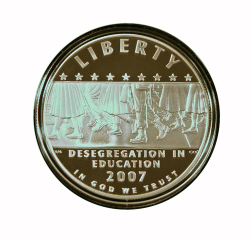 Challenge 2 Little Rock Commemorative Coin obverse 2007