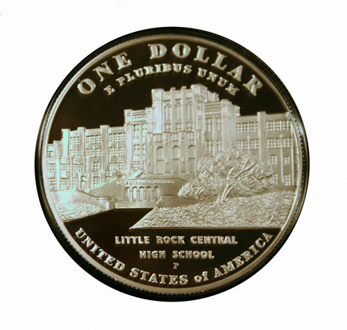 Challenge 2 Little Rock Commemorative Coin reverse 2007