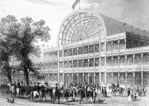Crystal Palace London 1851 front view