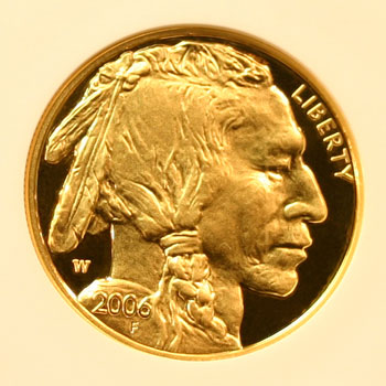 2006 Gold Buffalo 50 Dollar Coin obverse