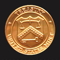 1986 Mint Set token reverse