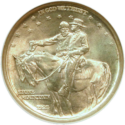 Stone Mountain Memorial Half Dollar obverse
