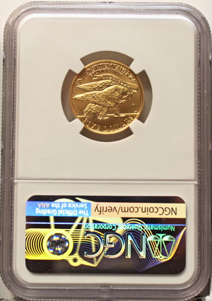 1995 XXVI Olympiad Five-Dollar Gold Coin reverse