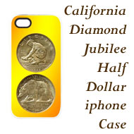 California Diamond Jubilee iphone Case on Greater Atlanta Coin Show's Numismatic Shoppe