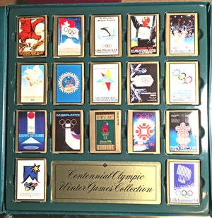 Centennial Olympic Winter Games Collection Playing Cards 17 decks