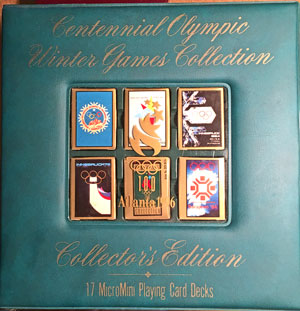 Centennial Olympic Winter Games Collection Playing Cards