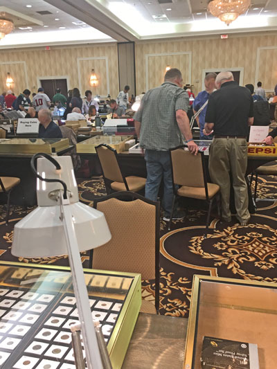 View of Greater Atlanta Coin Show April 2019