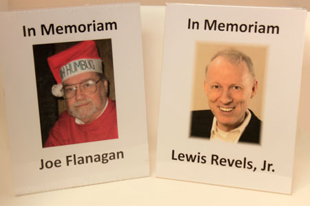 In Memoriam Joe Flanagan and Lewis Revels, Jr.