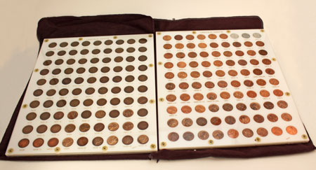 Lincon Cent coin set 1909 through 1974 - 180 coins