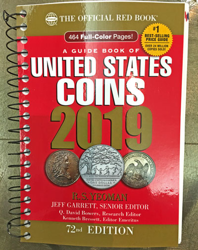 2019 The Official Red Book A Guide Book of United States Coins