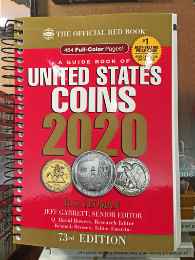 The Official Red Book 2020 A Guide Book of United States Coins