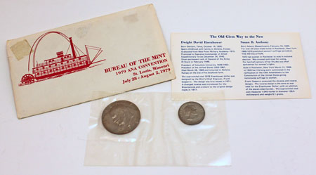 US Mint ANA Convention Souvenir Set St. Louis Missouri 1979