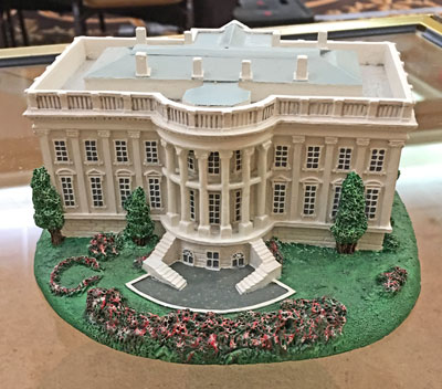 White House model rear view